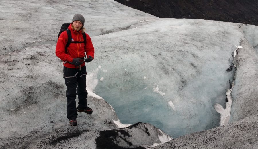 Watching the Sólheimajökull Glacier Disappear