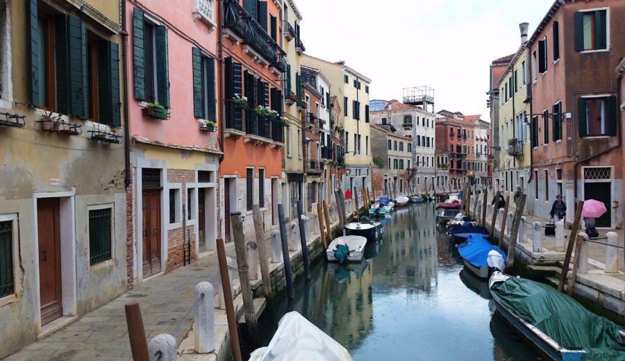 Watery Public Transit in Venice