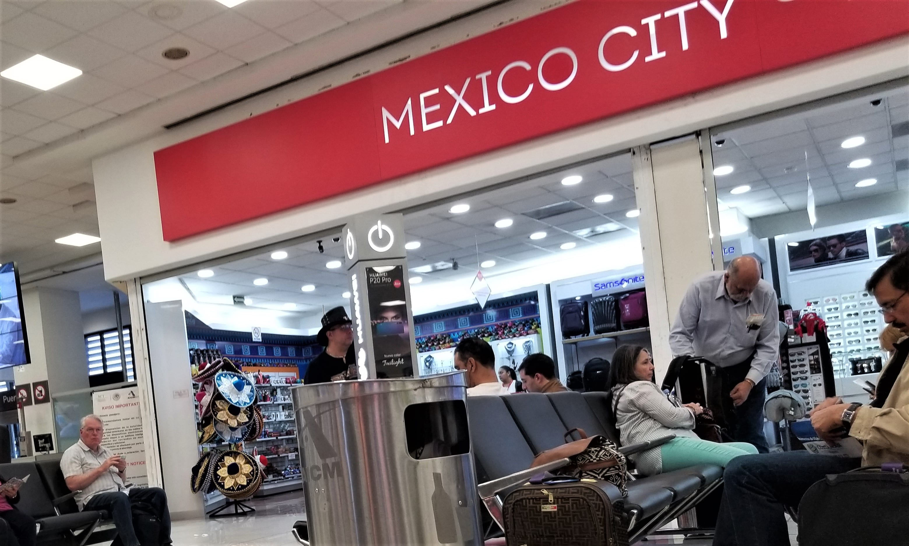 How Not to Arrive in Mexico City