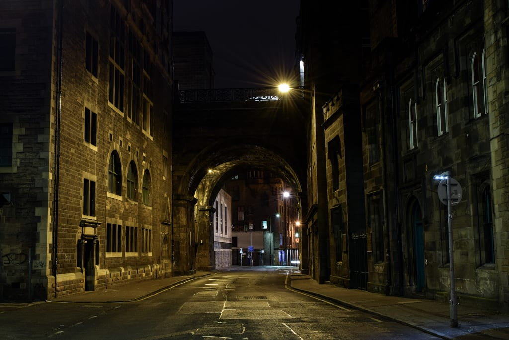Enter the Cowgate