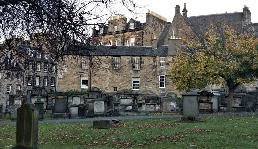 Greyfriars Kirkyard: The Cure for Jetlag