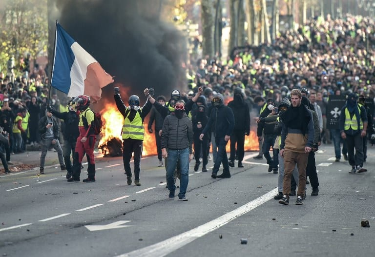 On Riots and Gilets Jaunes